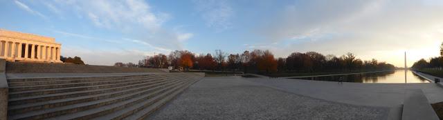 lincoln memorial panoramic