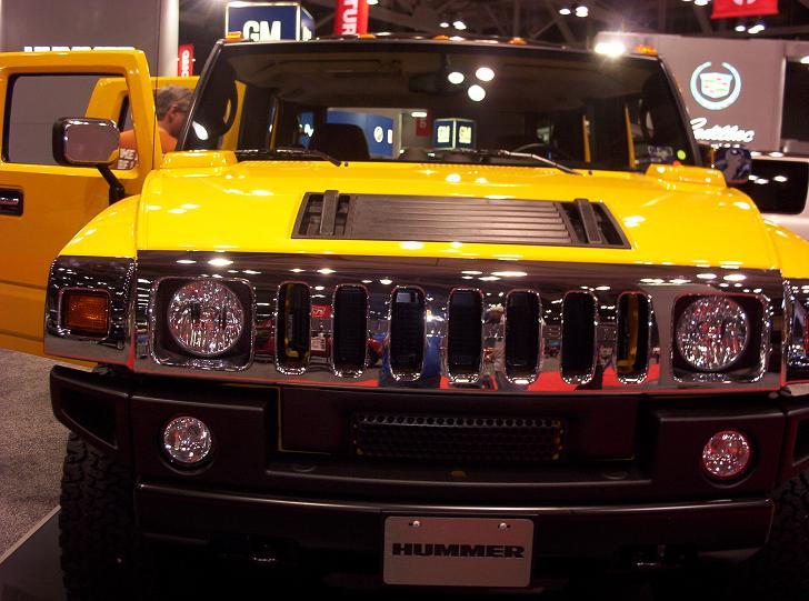 austin auto show 2005 H2 front