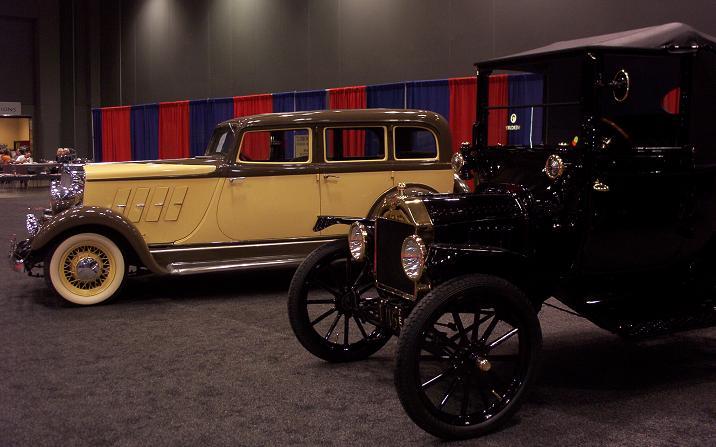 austin auto show 2005 antique cars