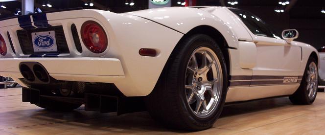 austin auto show 2005 ford gt