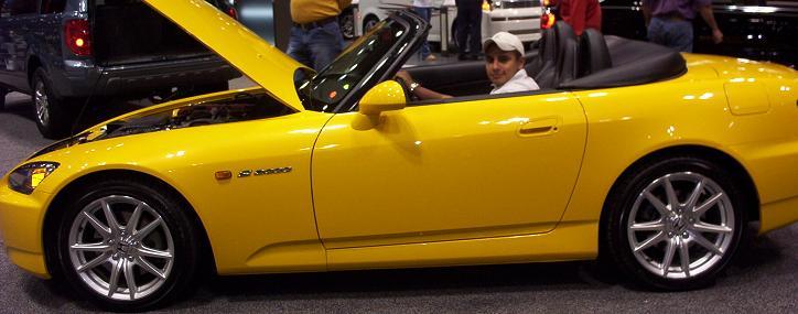 austin auto show 2005 honda s2000