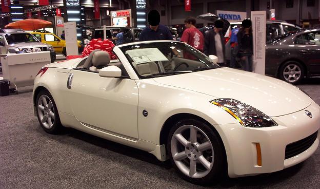 austin auto show 2005 nissan 350z