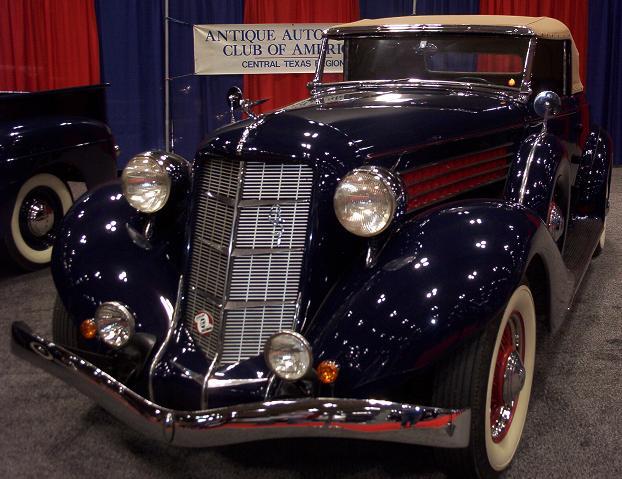 austin auto show 2005 old car