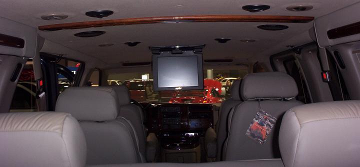 austin auto show 2005 van interior