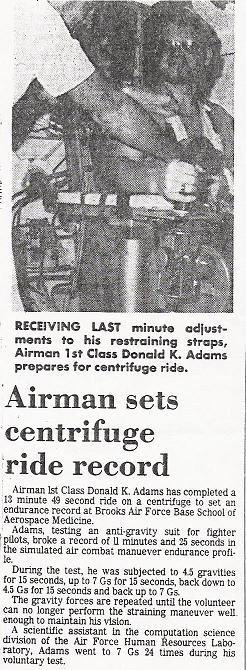 ADAMS CENTRIFUGE